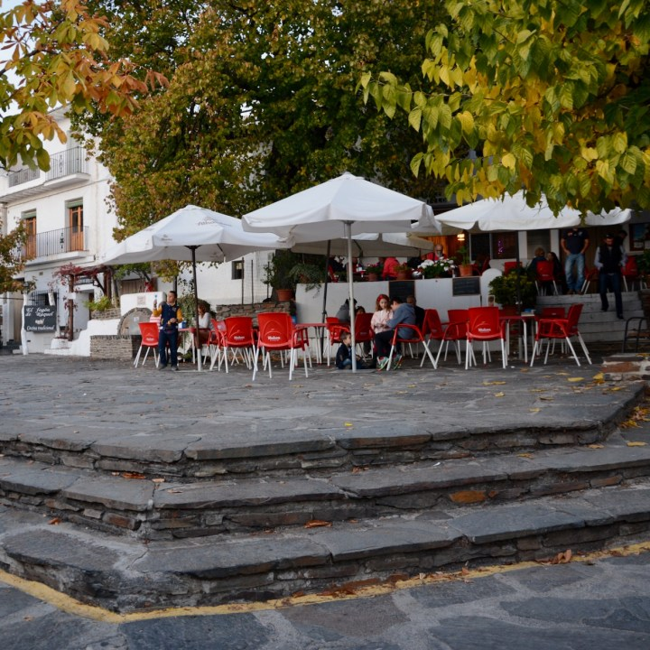 las alpujarras with kids bubion village square