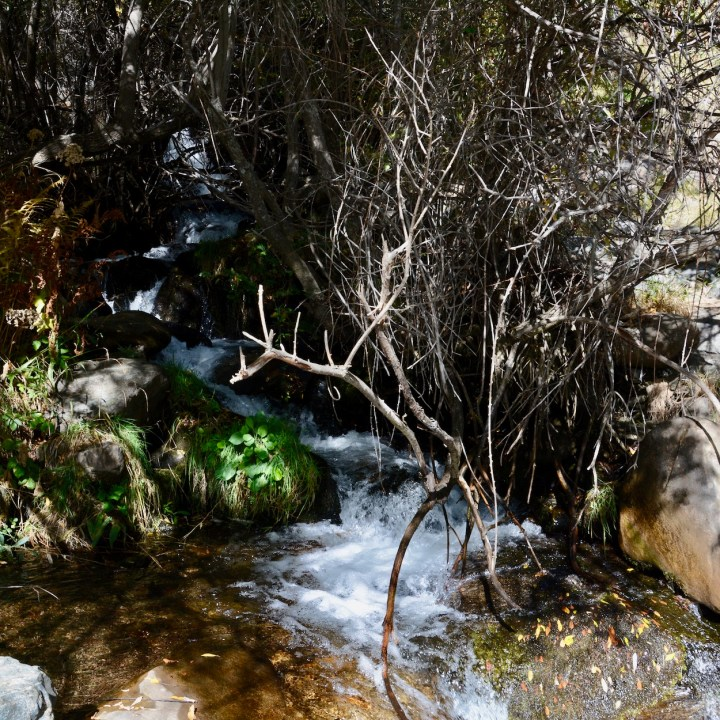 hiking with kids las aplujarras poqueira gorge stream