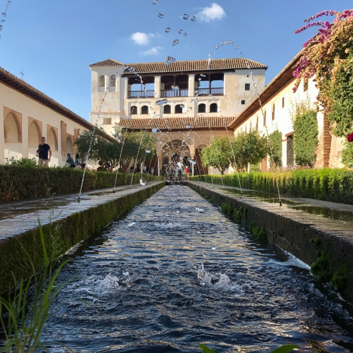 Granada, Spain | The Generalife, a Mesmerising Summer Palace and Water Gardens