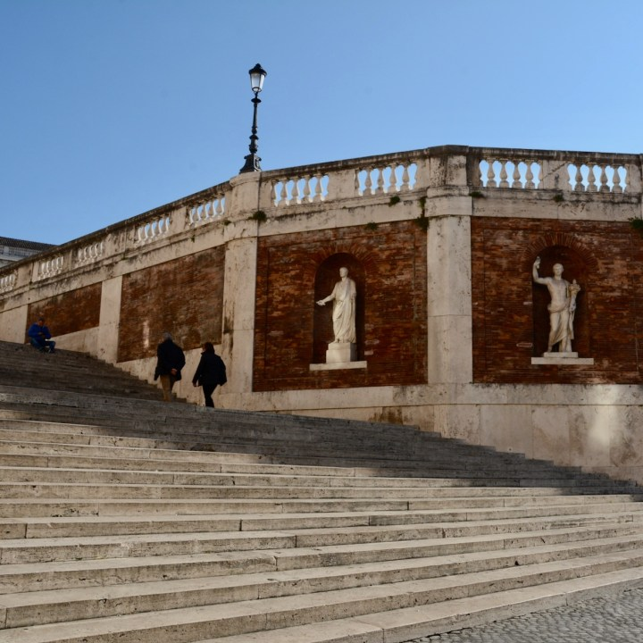 Rome with kids steps