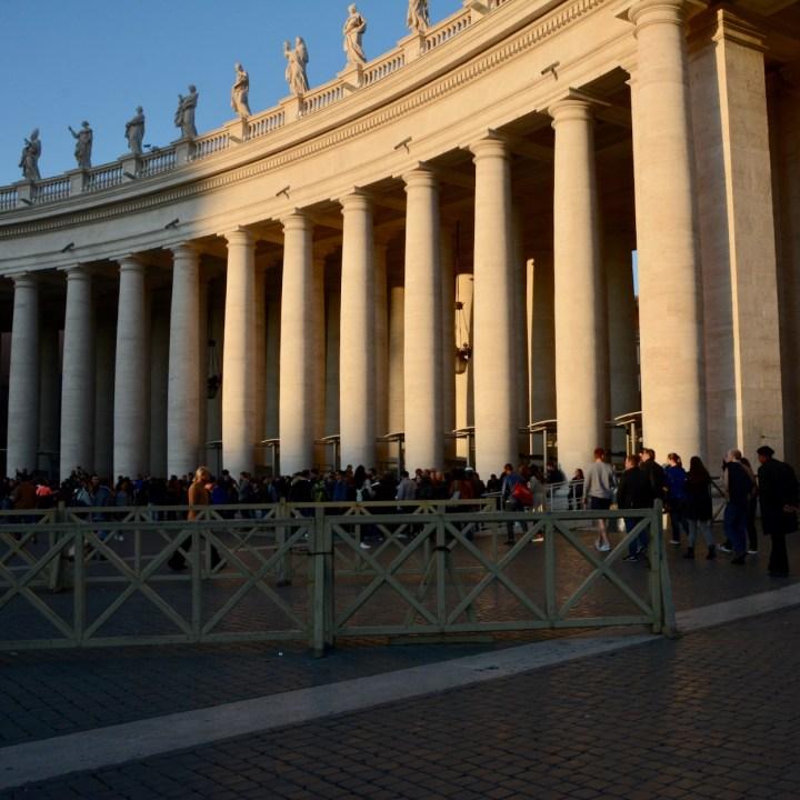 Rome with kids sistine chapel queue