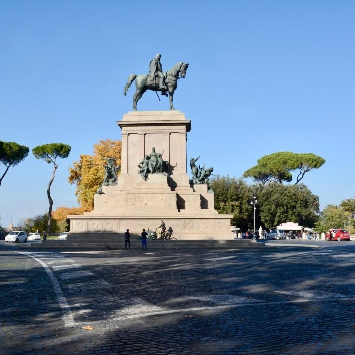 Rome with kids guiseppe garibaldi