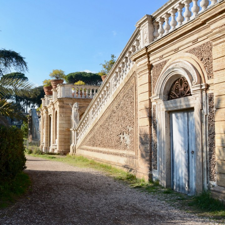 Rome with kids Villa Argadi