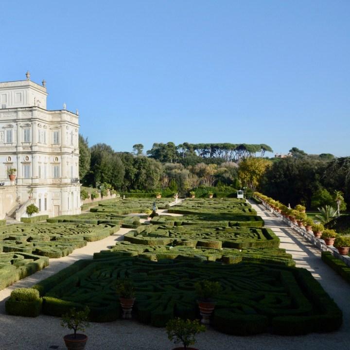 Rome with kids park villa doria pamphili gardens