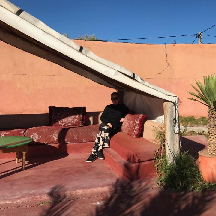 Morocco with kids marrakesh berber tent