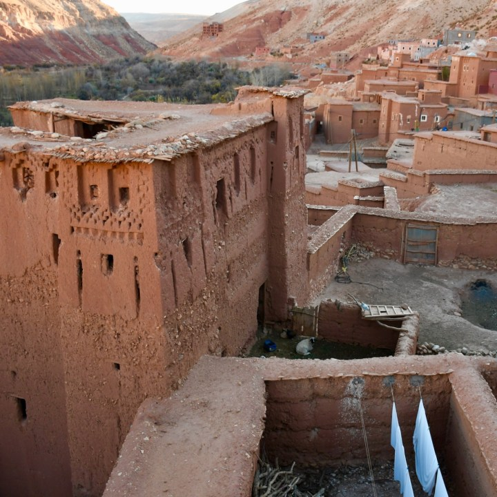 Morocco with kids local housing