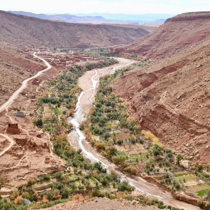 Ounilla Valley, Morocco | A Drive Through the Lush Oasis, Past Abandoned Cave Houses and Picturesque Berber Villages