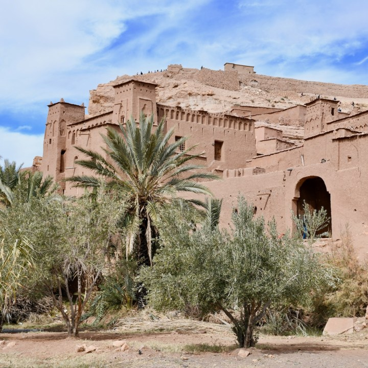 Ait Benhaddou with kids Morocco mud palace