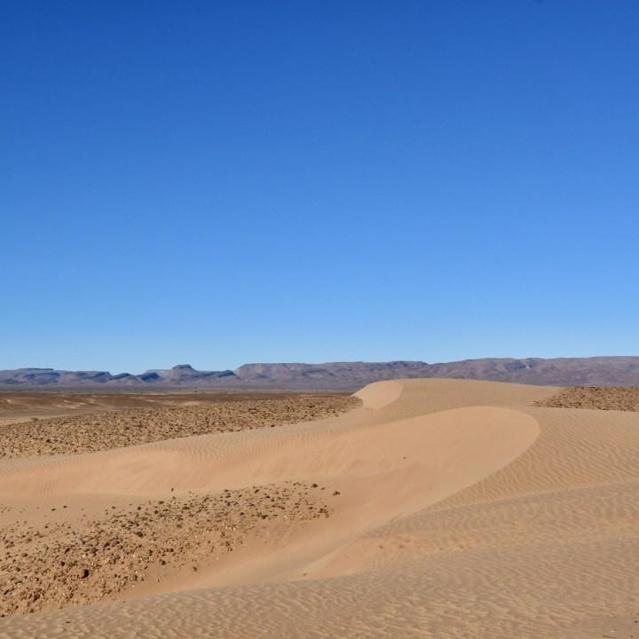 sahara desert erg chigaga with kids sandy dune