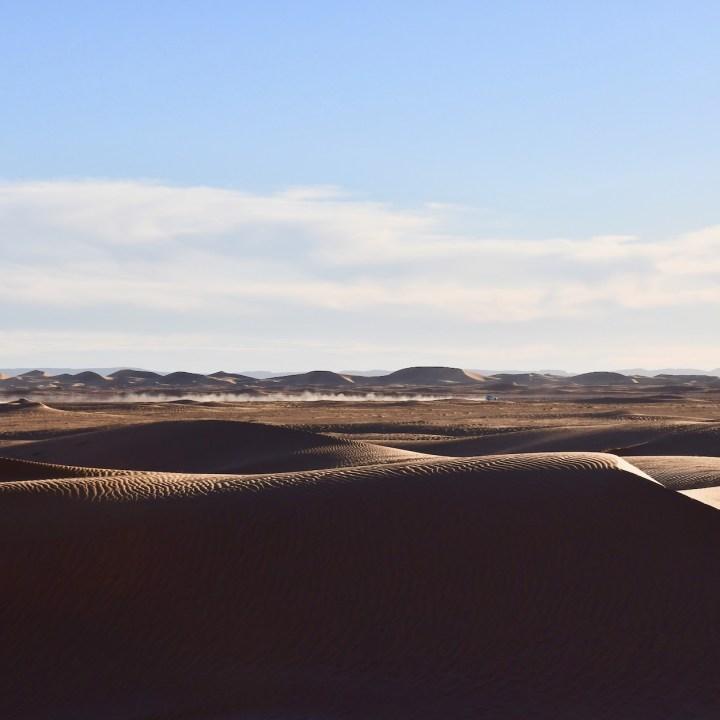 sahara desert erg chigaga with kids trail of dust