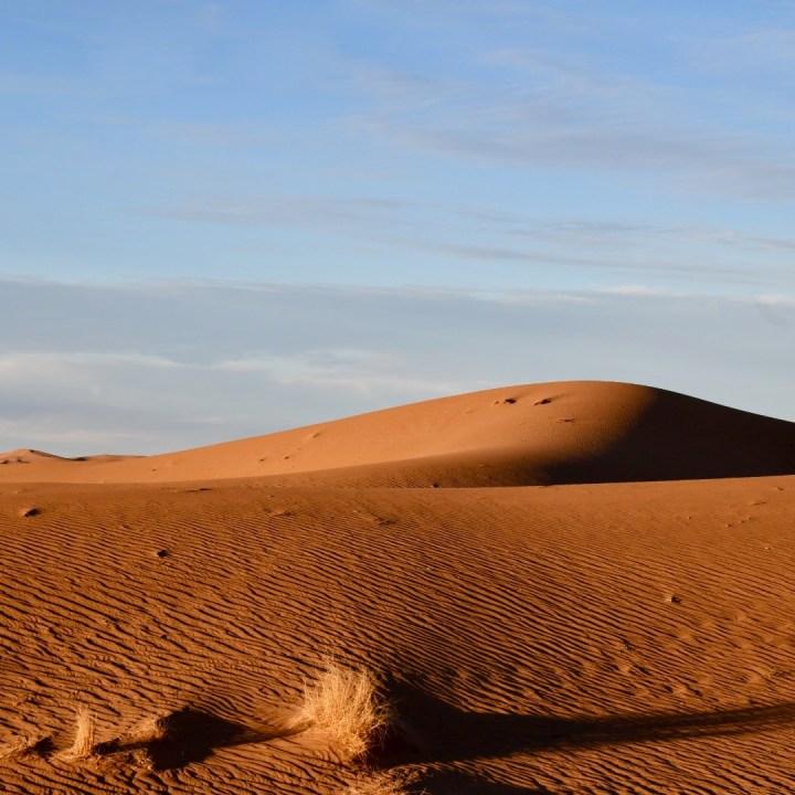 La Kahena luxury camp Erg Chigaga Sahara sandy mounds