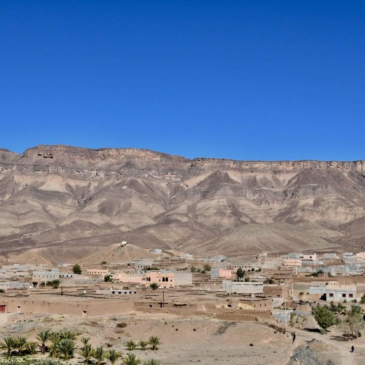 Agdz Morocco with kids draa valley hike village