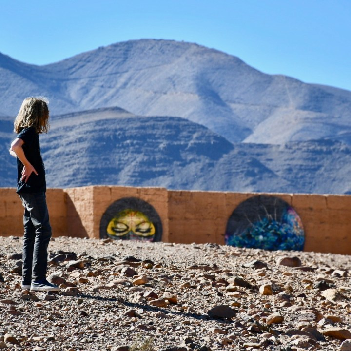 Agdz Morocco with kids draa valley hike observer