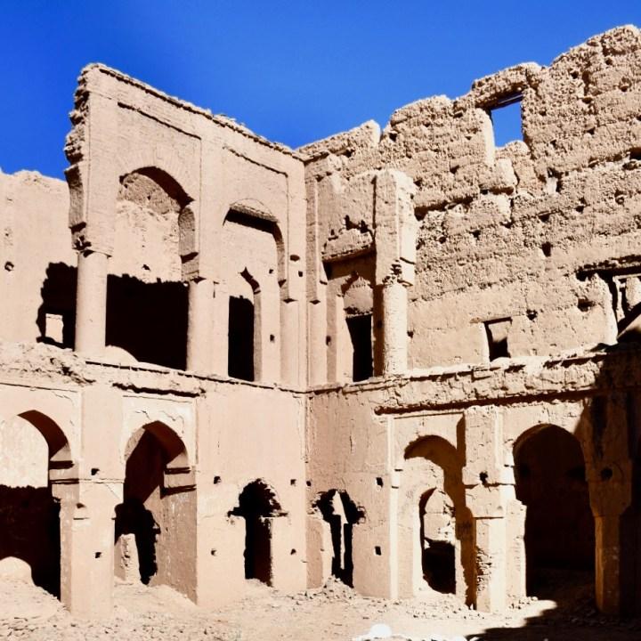 Agdz Morocco with kids draa valley hike mud palace