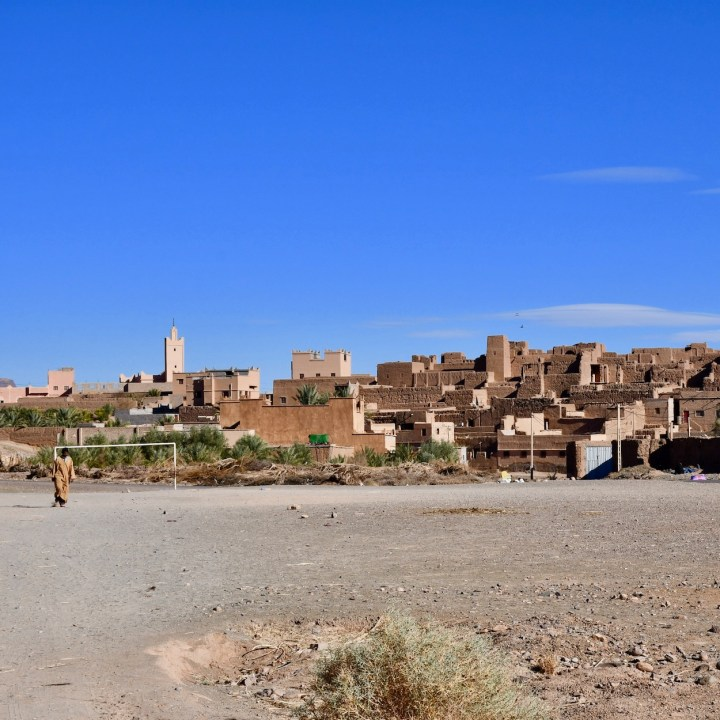 kasbah caids with kids Morocco Tamnougalt village