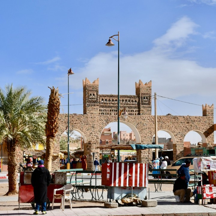 Agdz with kids Morocco square