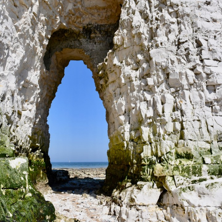 Broadstairs with kids kingsgate bay archway