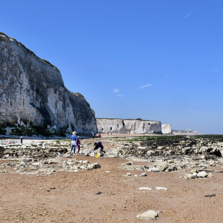 Broadstairs with kids rock pools