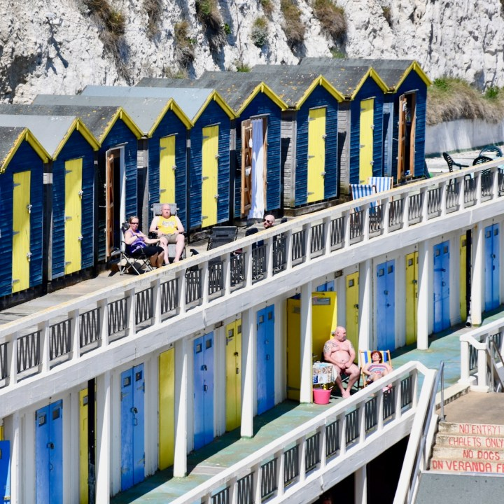 Broadstairs with kids bank holiday beach chalets