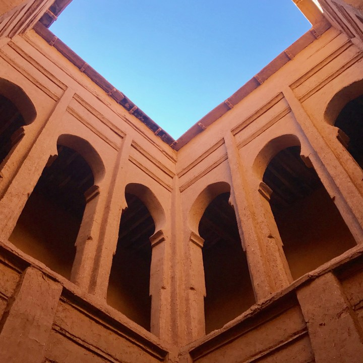 kasbah caids with kids Morocco architecture