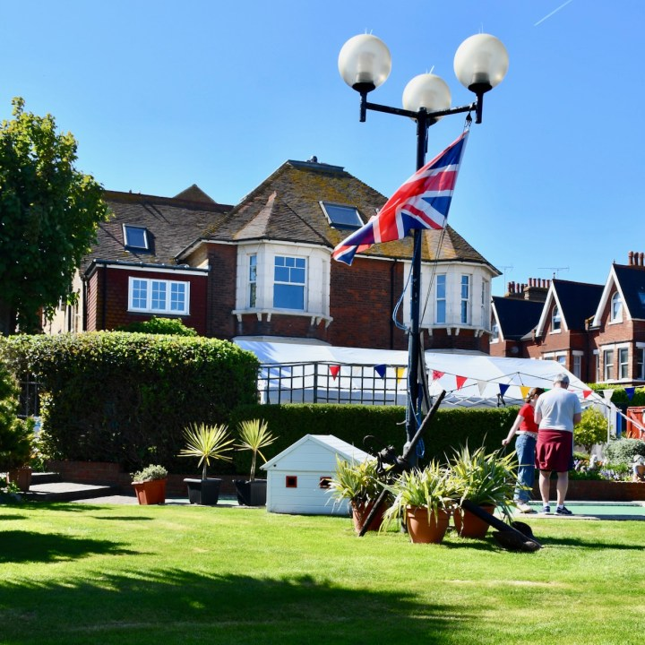 Broadstairs with kids crazy golf