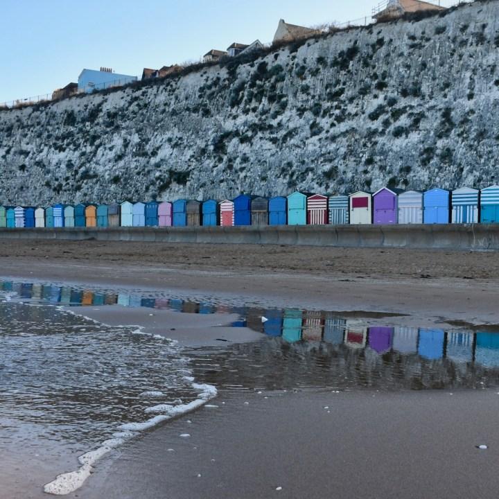 british seaside with kids broadstairs beach huts galore