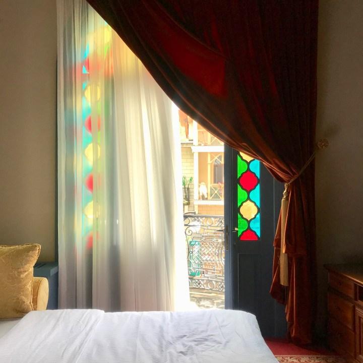family travel with kids Georgia Borjomi golden tulip hotel