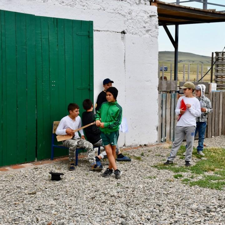 David Gareji Monastery with kids udabno
