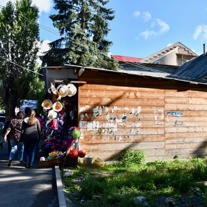 Bakuriani ski resort Georgia with kids souvenirs