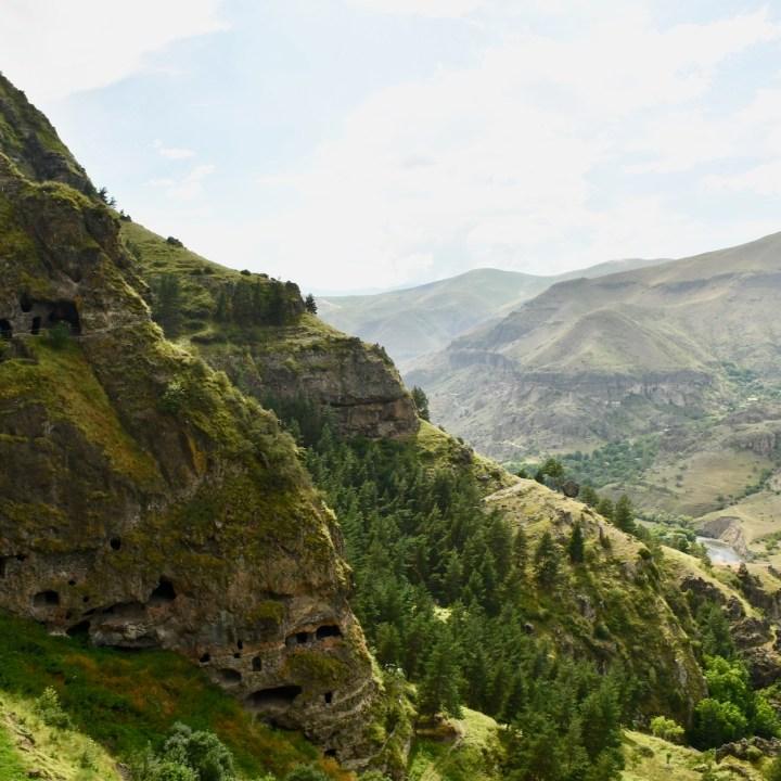 Vanis Kvabebi Cave Monastery caves