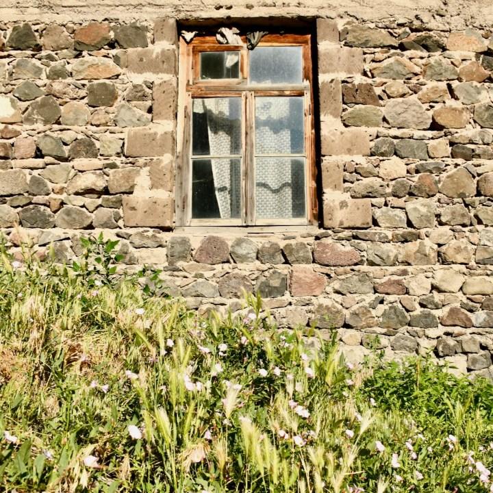 Khertvisi Georgia window