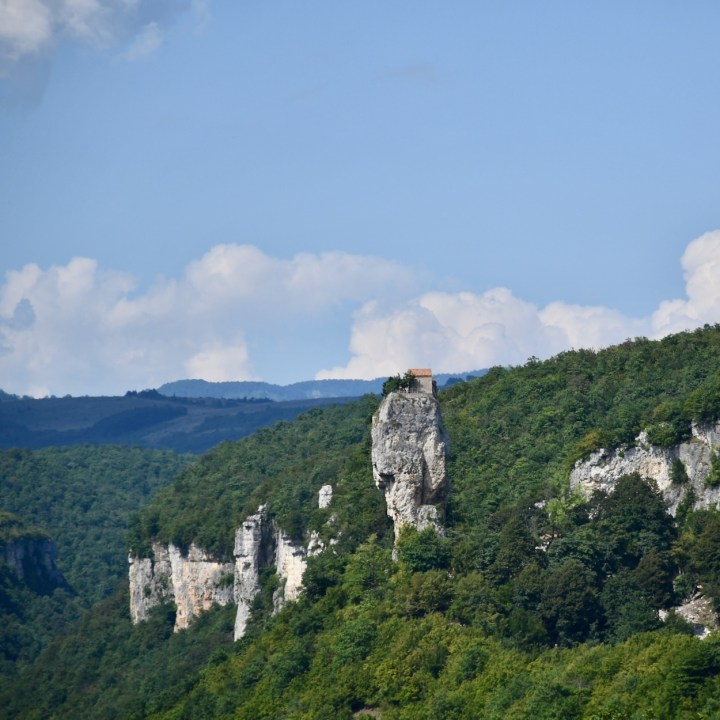 Chiatura, Georgia | Katskhi Pillar, the Most Unique and Bizarre Sight in Georgia