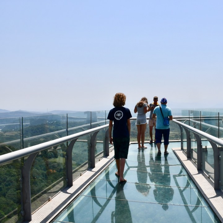 Sataplia Nature Reserve Georgia glass walkway