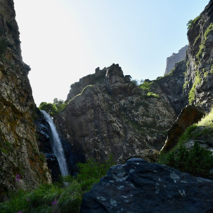 Gveleti big waterfall