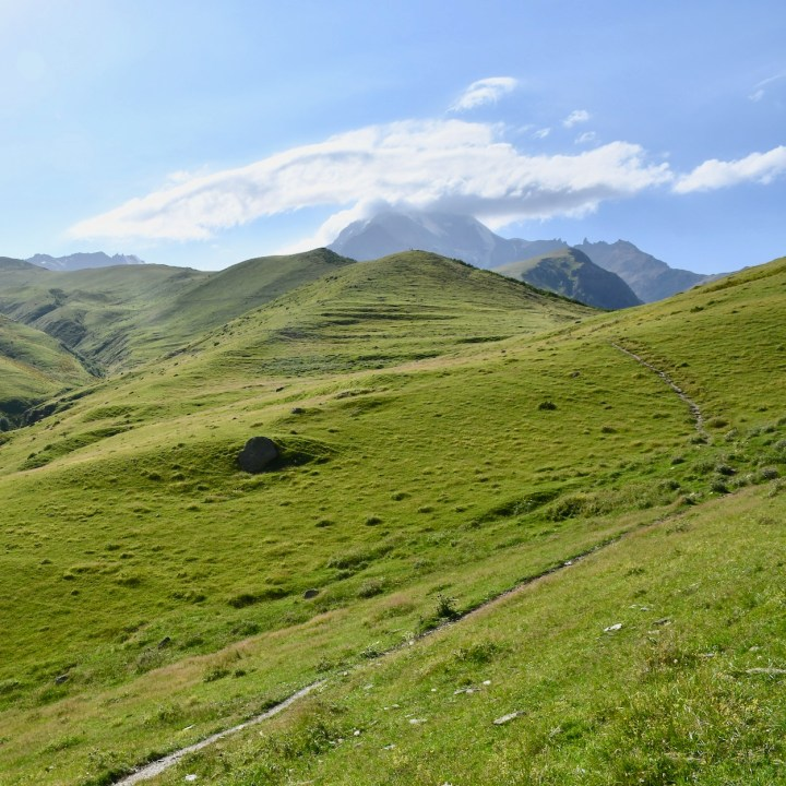 Mount Kazbek views
