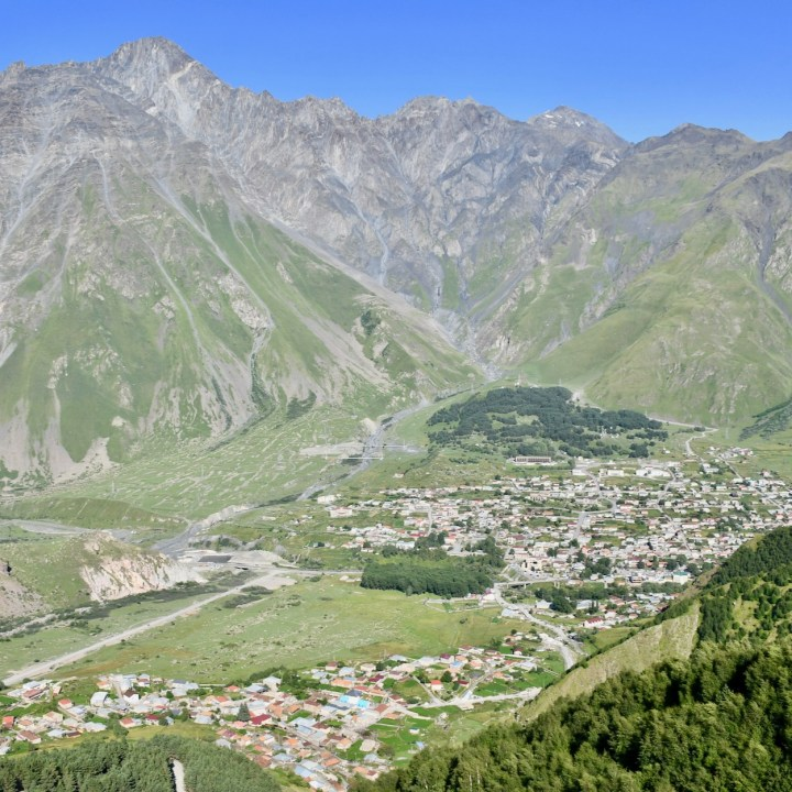 Kazbegi views