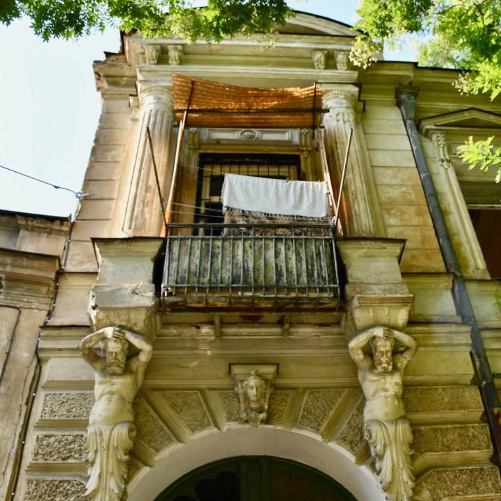 Tbilisi Sololaki house architecture