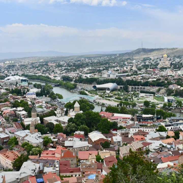 Tbilisi city views
