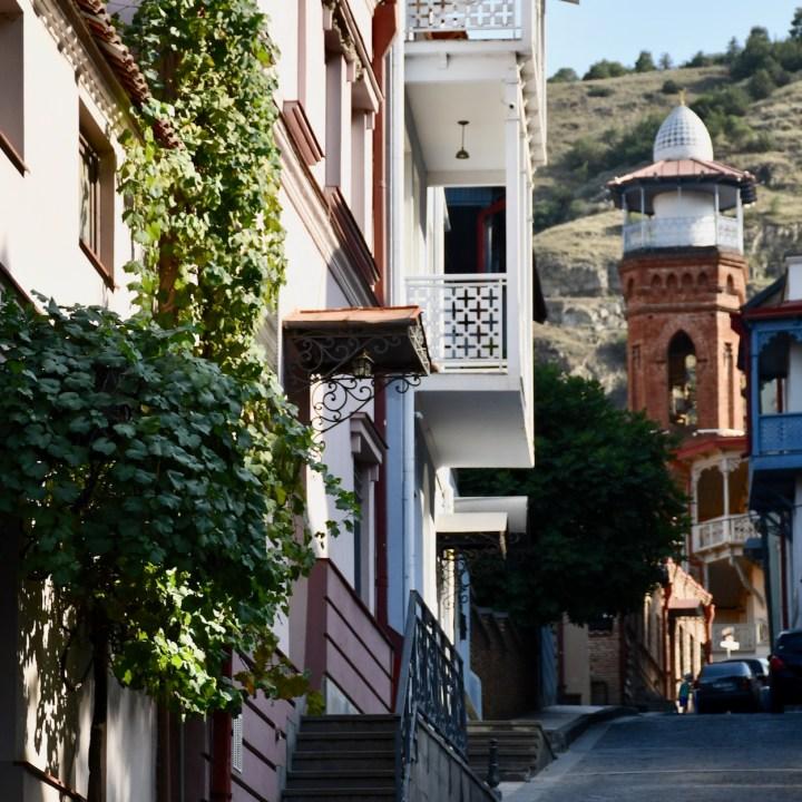 Tbilisi Betlemi street view