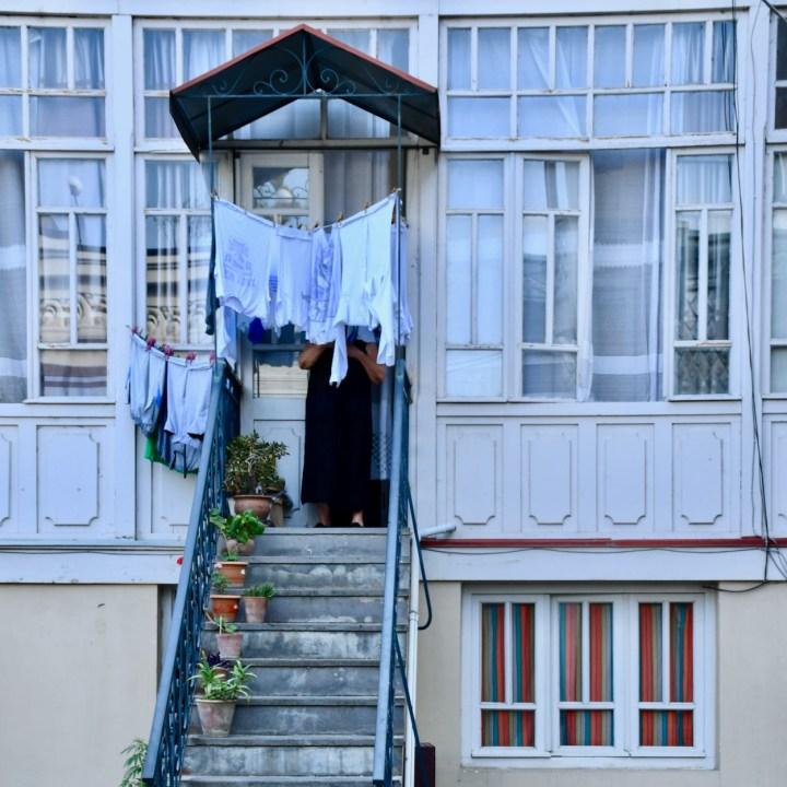 Tbilisi Betlemi porch