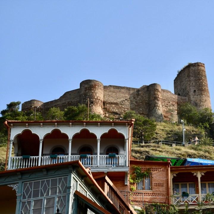 Tbilisi Narikala fortress