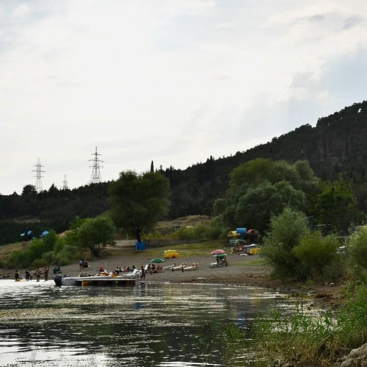 Tbilisi Sea beach club view