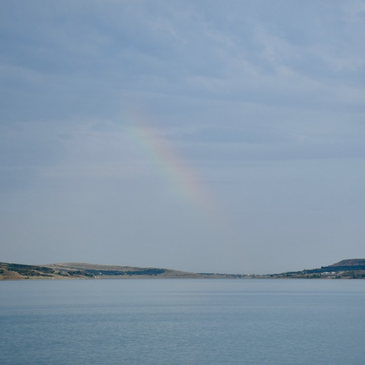 Tbilisi Sea rainbow