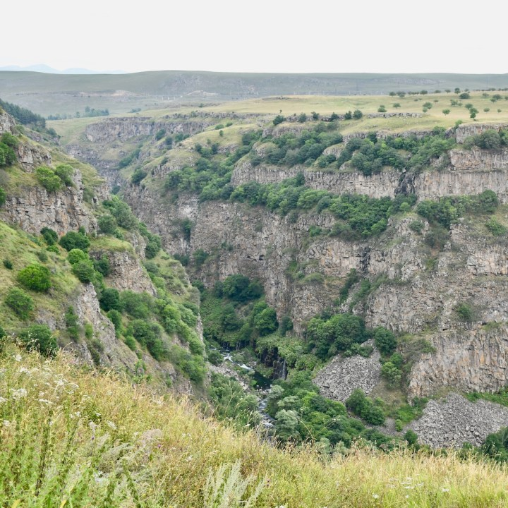Dashbashi canyon views