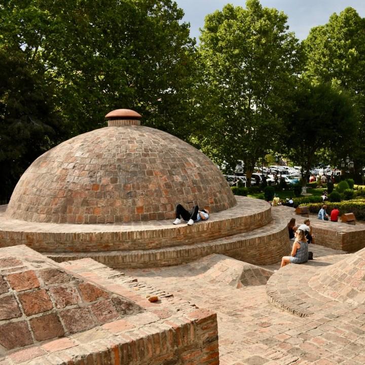 Tbilisi Georgia brick domes