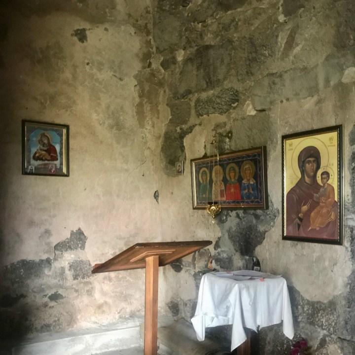 Dashbashi chapel interior