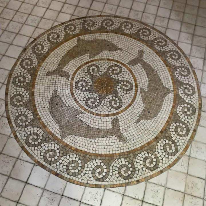 Tbilisi Georgia Gulo spa mosaic