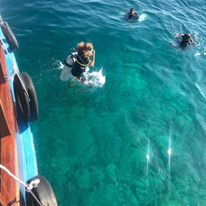 dive course Indian Ocean