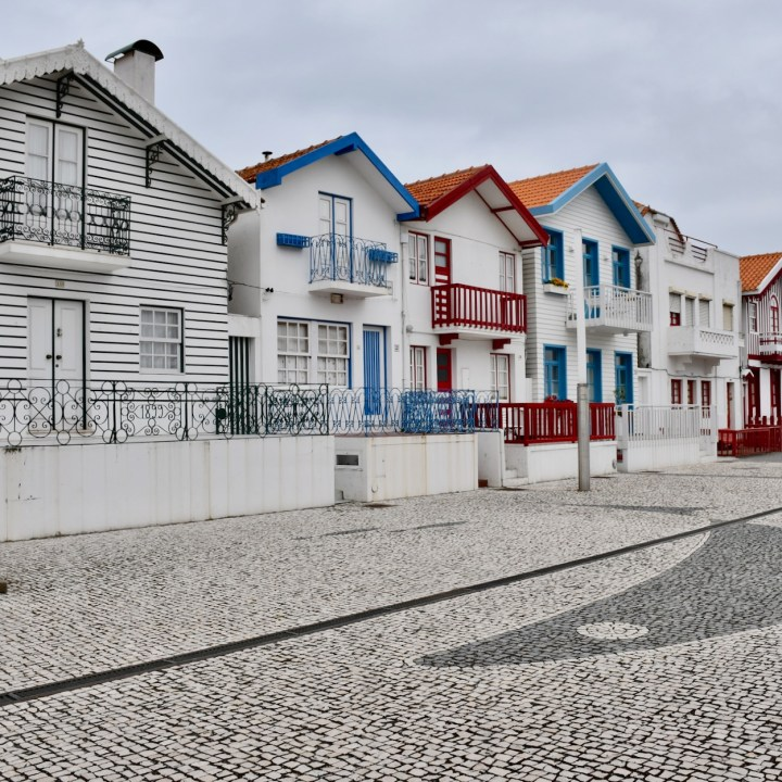 Costa Nova Portugal pretty houses