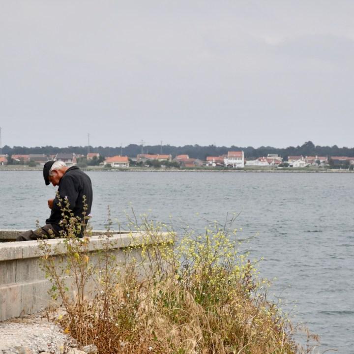 Costa Nova Portugal fisher man